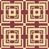 Art Deco Pattern. Seamless vintage background. Minimalistic geometric design. Vector line design. 1920-30s motifs. Luxury vintage illustration Stock Photography
