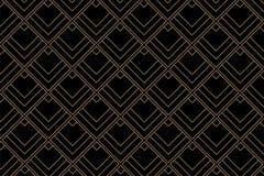 Art deco pattern background - Vector. Art deco pattern background with diamond shape - Vector stock illustration
