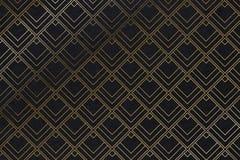 Art deco pattern background - Illustration. Art deco pattern background with diamond shape - Illustration royalty free illustration