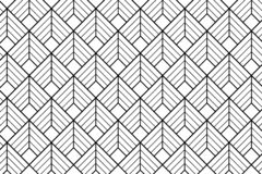 Art deco pattern background - Illustration. Art deco pattern textile with diamond shape - illustration vector illustration