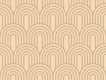 Art Deco Pattern Background sans couture simple Photos stock