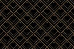 Art deco pattern background - Vector. Art deco pattern background with diamond shape - Vector royalty free illustration