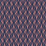 Art Deco Pattern géométrique sans couture Fond floral de vecteur abstrait illustration de vecteur