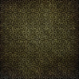 Art Deco pattern on paper backgrond Royalty Free Stock Photo