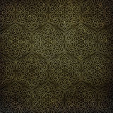 Art Deco pattern on paper backgrond Stock Photography