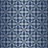 Art Deco Pattern sans couture avec le gradient argenté illustration stock