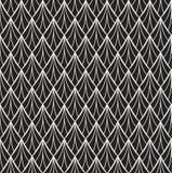 Art Deco Pattern sans couture classique Fond élégant d'antiquité de rideau illustration libre de droits