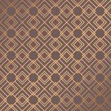 Art Deco Pattern. Seamless golden background. Minimalistic geometric design. Vector line design. 1920-30s motifs. Luxury vintage illustration Stock Photos