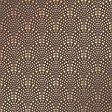 Art Deco Pattern. Seamless golden background. Minimalistic geometric design. Vector line design. 1920-30s motifs. Luxury vintage illustration Royalty Free Stock Photos
