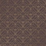 Art Deco Pattern. Seamless golden background. Minimalistic geometric design. Vector line design. 1920-30s motifs. Luxury vintage illustration Royalty Free Stock Photos