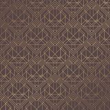 Art Deco Pattern. Seamless golden background. Minimalistic geometric design. Vector line design. 1920-30s motifs. Luxury vintage illustration royalty free illustration
