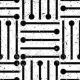Art Deco Pattern. Seamless grunge background. Minimalistic geometric design. Vector line design. 1920-30s motifs. Luxury vintage illustration vector illustration