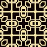 Art Deco Pattern. Seamless vintage background. Minimalistic geometric design. Vector line design. 1920-30s motifs. Luxury vintage illustration Stock Photo