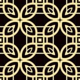 Art Deco Pattern. Seamless vintage background. Minimalistic geometric design. Vector line design. 1920-30s motifs. Luxury vintage illustration Stock Images