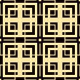 Art Deco Pattern. Seamless vintage background. Minimalistic geometric design. Vector line design. 1920-30s motifs. Luxury vintage illustration Royalty Free Stock Photos