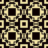 Art Deco Pattern. Seamless vintage background. Minimalistic geometric design. Vector line design. 1920-30s motifs. Luxury vintage illustration royalty free illustration
