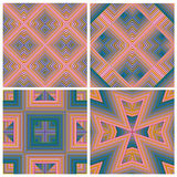 Art Deco Pattern Set Photographie stock libre de droits