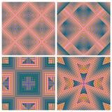 Art Deco Pattern Set Fotografía de archivo libre de regalías