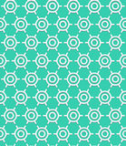 Art deco pattern. Vector geometric pattern with art deco motifs. Simple vector texture with round shapes in vintage 1920s and 1930s style. Decorative retro Stock Image