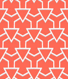 Art deco pattern. Vector geometric pattern with art deco motifs. Simple vector texture with triangle shapes in vintage 1920s and 1930s style. Decorative retro stock illustration
