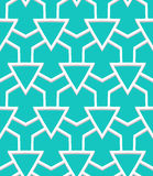 Art deco pattern. Vector geometric pattern with art deco motifs. Simple vector texture with triangle shapes in vintage 1920s and 1930s style. Decorative retro Stock Photos