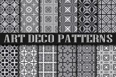Art Deco Patterns ilustração do vetor