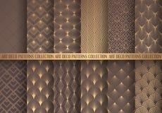 Art Deco Patterns Set illustration de vecteur
