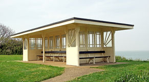 Art deco period shelter Royalty Free Stock Photo