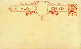 Art Deco Postcard Stock Images