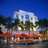 Art Deco Projektuje Edison w Miami plaży Obraz Stock
