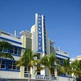 Art Deco Projektuje falochron w Miami plaży Zdjęcia Royalty Free