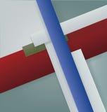 Art Deco projektuje geometrycznego jaskrawego projekt Obraz Royalty Free
