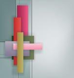 Art Deco projektuje geometrycznego jaskrawego projekt Zdjęcia Royalty Free