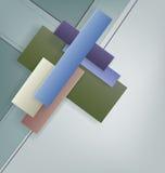 Art Deco projektuje geometrycznego jaskrawego projekt Zdjęcie Royalty Free