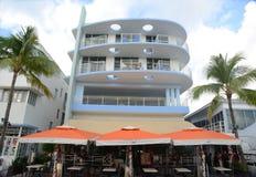 Art Deco Projektuje kongres w Miami plaży Fotografia Royalty Free