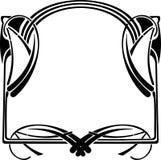 art deco rama royalty ilustracja