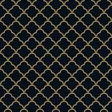 Art Deco rocznika tapety bezszwowy wzór Obrazy Stock