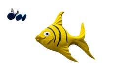 Art Deco ryba Zdjęcia Royalty Free