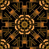 Art Deco Seamless Pattern Fotos de archivo