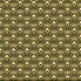 Art Deco Seamless Pattern Background Vecteur Photographie stock