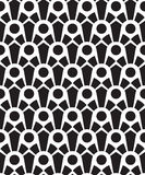 Art deco seamless pattern Stock Photography
