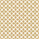 Art Deco Seamless Pattern classique Ornement élégant géométrique Texture antique de vecteur Illustration Stock