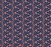 Art Deco Seamless Pattern classique Texture élégante géométrique Rétro texture abstraite de vecteur illustration libre de droits