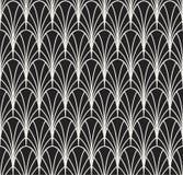 Art Deco Seamless Pattern classique Texture élégante géométrique Rétro texture abstraite de vecteur Photos libres de droits