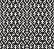 Art Deco Seamless Pattern classique Texture élégante géométrique Rétro texture abstraite de vecteur Photo libre de droits