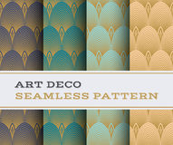 Art Deco seamless pattern 14 Stock Photography