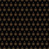 Art Deco Seamless Pattern floral classique Texture élégante de fleur géométrique Rétro texture abstraite de vecteur Illustration Libre de Droits