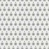 Art Deco Seamless Pattern floral classique Texture élégante de fleur géométrique Rétro texture abstraite de vecteur Illustration de Vecteur