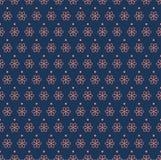 Art Deco Seamless Pattern floral classique Texture élégante de fleur géométrique Rétro texture abstraite de vecteur Illustration Stock