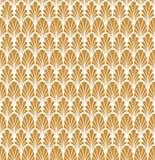 Art Deco Seamless Pattern floral classique Texture élégante géométrique Rétro texture abstraite de vecteur illustration stock